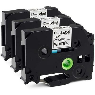 3 Pack Replace P Touch Label Tape Compatible Brother P-Touch Maker (TZ231...