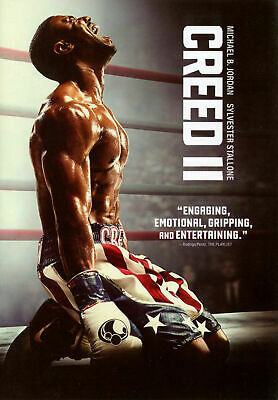 Creed II - (DVD, 2019) New And Sealed. Two Discs