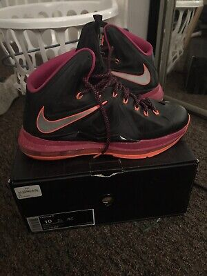 best website 56f1b a24ed Nike Men s Lebron James X 10 Floridian Basketball Shoes Size 10 ( South  Beach)