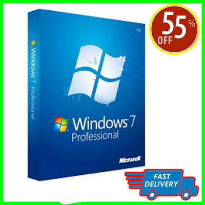Windows 7 Professional Key 32 or 64 bit - Windows 7 Pro Key - Win 7 Pro Key + 🎁