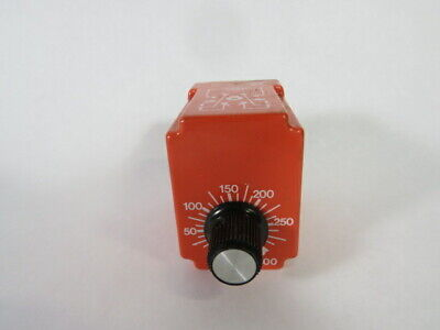 NCC S1K-300-461 Solid State Timer 3-300sec 120/240VAC 50/60HZ 10A 1/3HP ! WOW !