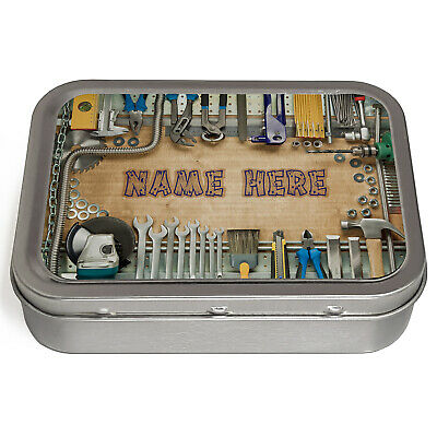 Personalised 2oz Tobacco Tin BEST PLUMBER Smoking Pill Baccy Storage Gift ST351
