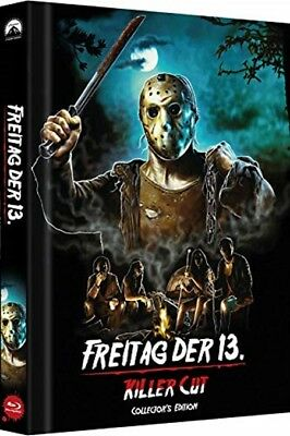 Mediabook FREITAG DER 13.  KILLER CUT Limited Uncut Edition  COVER D BLU-RAY Neu