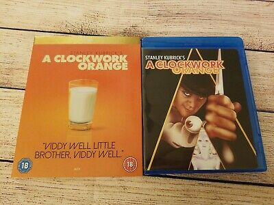 A Clockwork Orange (Blu-ray Disc, 2007) w/ Very Rare UK Icons Slipcover