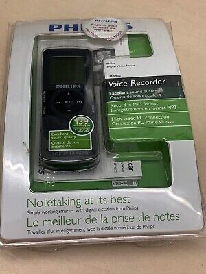 Philips Digital Dictaphone Voice Tracer Model LFH0602