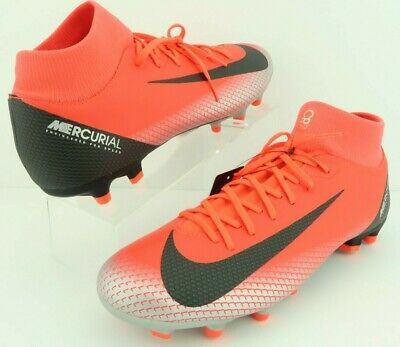 3a17bcbe Nike AJ3541-600 Mercurial Superfly 6 Academy MG Bright Crimson Red Soccer  Cleats