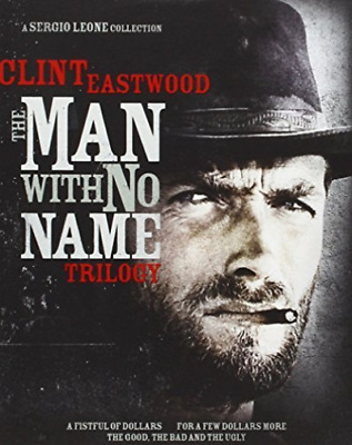 EASTWOOD,CLINT-Man With No Name Trilogy, The - Gift Set Blu-Ray NEW