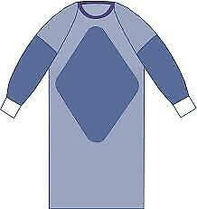 Medline Sirus™ Surgical Gown, Reinforced, Large, DYNJP2501, Lot of 24