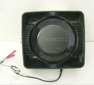 Federal Signal Siren Speaker ES100C 11 OHMS 100 Watts DynaMax