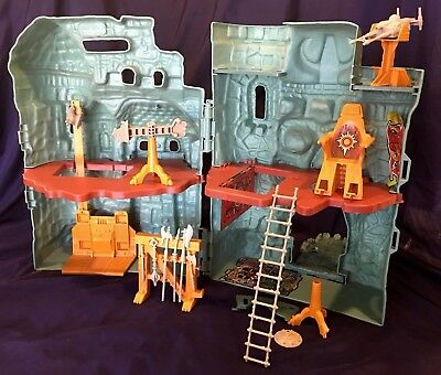 Vintage 1982 Masters of the Universe Castle Grayskull Playset Mattel MOTU He Man