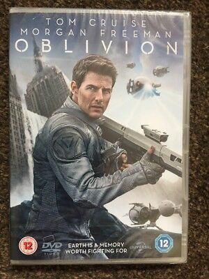 Oblivion  DVD 2014 - Tom Cruise - NEW SEALED Region 2 Prompt Free 1st Class Post