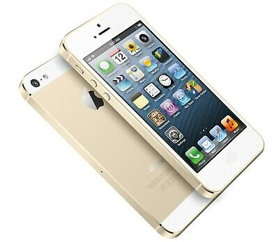 Apple iPhone 5S 16GB Gold LTE Cellular Bell ME298LL/A - B