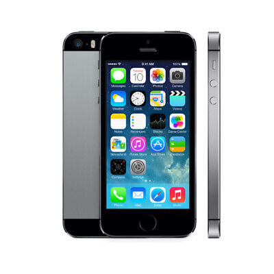Apple iPhone 5S 16GB Space Gray LTE Cellular Bell ME296LL/A - B
