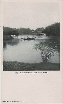 New York City Central Park Lagoon View, Private Mailing Card  Nyc