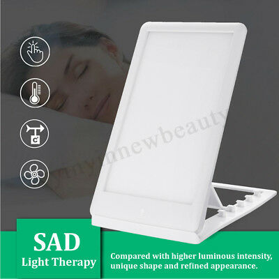 11000 Lux Sunlight SAD Light Therapy Improve Mood Healing Wellness Lamp 3 Mode