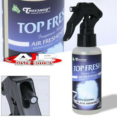 Treefrog Tree Frog Natural Air Freshener Black Squash Fragrance Mist Spray 100Ml