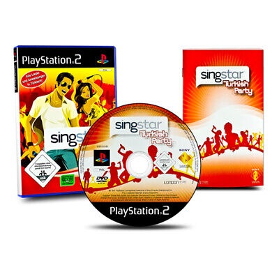 PLAYSTATION 2 - Ps2 Game Singstar Turkish Party without Micros Boxed &