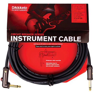 The Switch Guitar Cable 15/' Bass//Guitar Blue Cable Mutable Circuit Breaker New