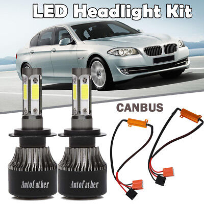 H7 LED Cree Headlight Canbus Bulbs Decoder Load Resistor for BMW 1 3 5 6 Series