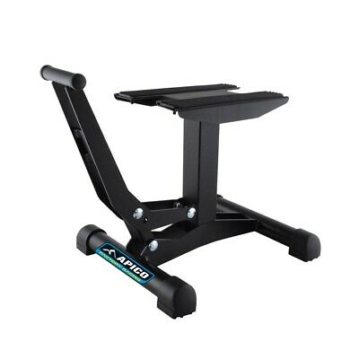 Apico X-Treme MX Motocross Lift-Up Bike Stand - Black