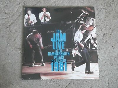 THE JAM - STUDIO ALBUMS ; rare deleted 8-Vinyl LP Box Set PLUS Hammersmith ; New