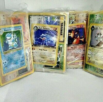 EPIC 50 POKEMON MYSTERY CUBE 50 CARDS WITH WOTC 1ST EDITION//HOLOS BASE SET MORE
