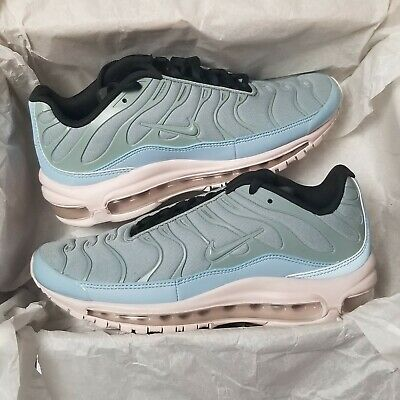 newest 342b8 d2d80 NIKE AIR MAX 97 Plus Mica Green Barely Rose Layer Cake Mens Size 6.5