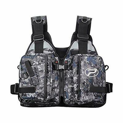 023240 Gilet Galleggiante Props Game Camouflage Grey Pesca Kayak Belly Boat CAS