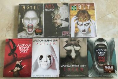 American Horror Story: The Complete Seasons 1-7 (DVD, 2018, 26-Disc Set)