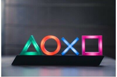 Official PlayStation Icons Light New With Free Next Day Delivery!