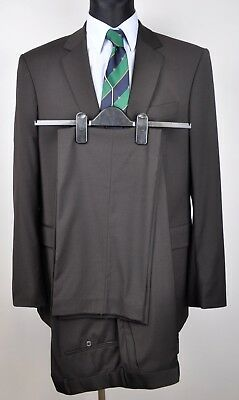 TIGER OF SWEDEN Wool Blend Brown Suit Size 152 Blazer 150 Pants W35 L33 Trousers