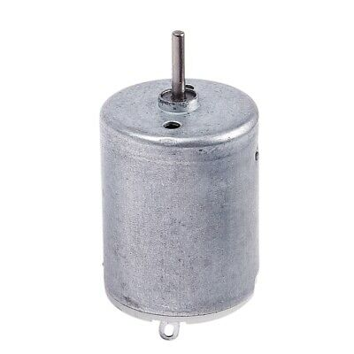 10X(DC 9V 20000RPM Rotary Speed Cylinder Shape Magnetic Motor, Silver Gray K5Y4)