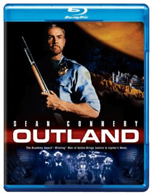 `CONNERY,SEAN`-OUTLAND Blu-Ray NEW