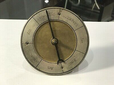 Antique Subsidiary Dial For A Musical Clock