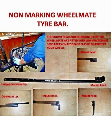 Unique Design Manual Tyre Changer Bar Alloy & Steel Wheels, Car Van, Motorcycle.