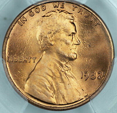 1982 Zinc Large Date PCGS MS67RD Lincoln Cent