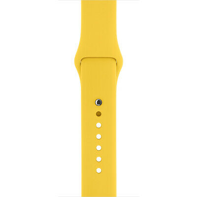 NEW Genuine Original Apple Watch Strap 42mm / 44mm Yellow Sport Band MM992ZM/A