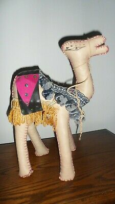 Attractive Leather Camel Ornament
