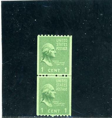 United States 1938 Scott# 848 Joint Line Pair mint NH