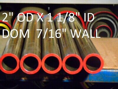 "E0134 Dom Round Steel Tube  2.000"" Od  X   1.125""  Id  (.437 Wall)   36""  Long"