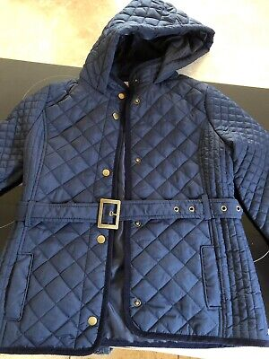 9b6260c4 Age 11-12 Year Old Girls Marks & Spencer M&S Kids Navy Jacket With Belt