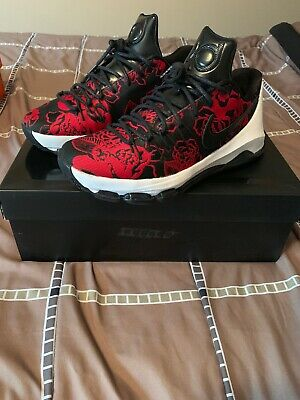 promo code 580db 28d30 Nike Mens KD 8 EXT Red Floral Size 10