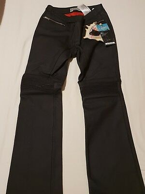 Icon Hella Leather Trousers Female Motorbike Leather trousers New Size 7