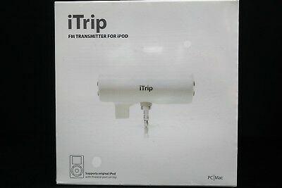 New Classic Apple iPod Griffin iTrip FM Transmitter Sealed Collectors item. Rare