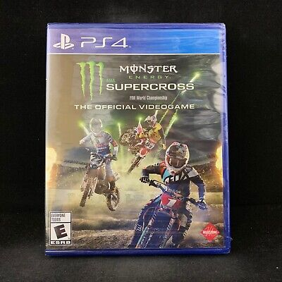 Monster Energy Supercross - The Official Videogame (PS4 / Playstation 4)