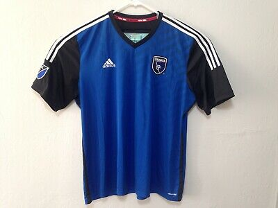 sneakers for cheap da3be 3b8d1 H451 San Jose Earthquakes QUAKES Adidas Climacool Jersey MLS Size 2XL Soccer