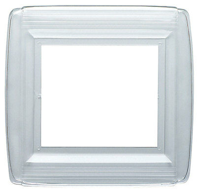 Westinghouse 2 gang Clear Plastic Wall Plate Shield 1 pk