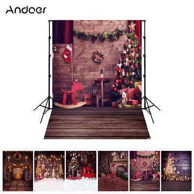 Andoer 1.5*2M 5*7 Ft Photography Photo Studio Christams Background Backdrop F9H1