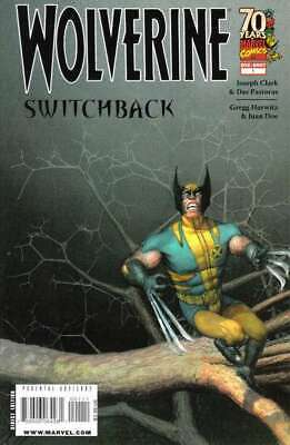 Wolverine (2003 series) Switchback #1 in NM condition. Marvel comics [*1k]