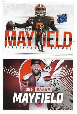 BAKER MAYFIELD -  Rated Rookie -  WHITE EDITION!  CLEVELAND BROWNS